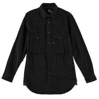 G Star Mens typ C rakt långärmad skjorta