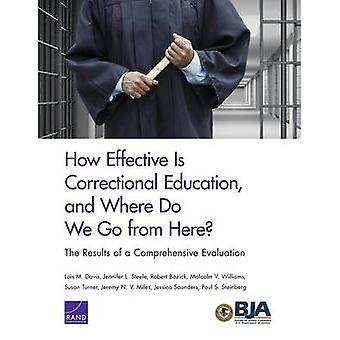 How Effective Is Correctional Education and Where Do We Go from Here The Results of a Comprehensive Evaluation by Davis & Lois M.