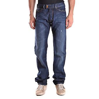 Diesel Ezbc065020 Mænd's Blå Bomuld Jeans