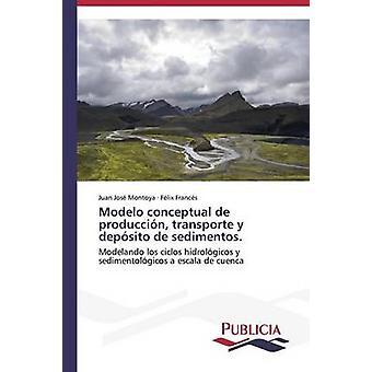 Modelo conceptual de produccin transporte y depsito de sedimentos. by Montoya Juan Jos