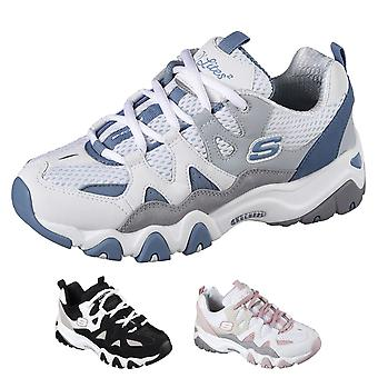 Womens Skechers D Lites tabuleiro extrema Fitness Workout Gym treinadores