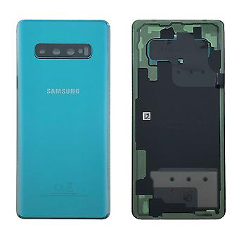 Samsung GH82-18406E battery cover cover for Galaxy S10 plus G975F + adhesive pad green Prism green new