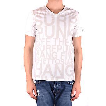 Sundek Ezbc153002 Men's White Cotton T-shirt