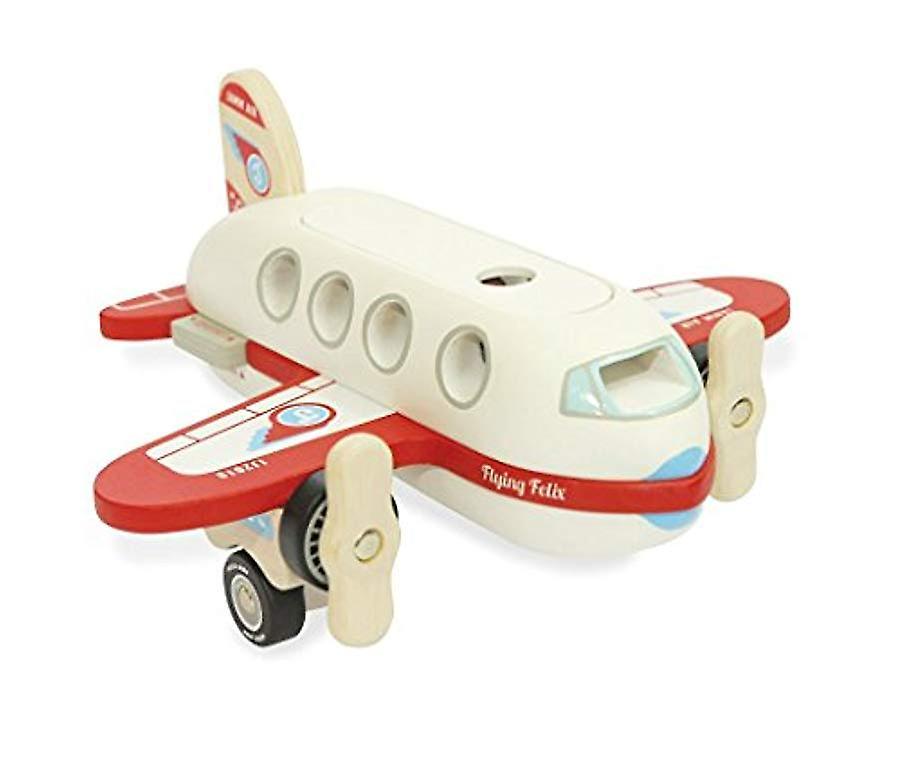 Indigo Jamm Wooden Toy Flying Felix