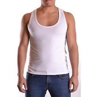 John Galliano Ezbc189004 Men's White Cotton T-shirt