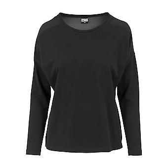 Urban Classics Damen Sweatshirt Oversize Chiffon Crew