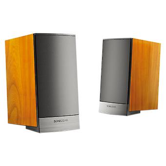 SonicGear Morro 1 Ultra Speakers Woodgrain Finish