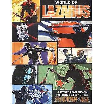 The World of Lazarus A Modern AGE Campaign Setting Book