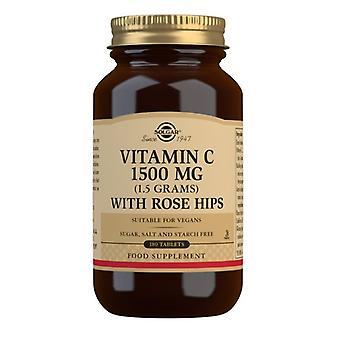 Solgar Vitamin C 1500mg mit Hagebutten Tabletten 180 (2421)