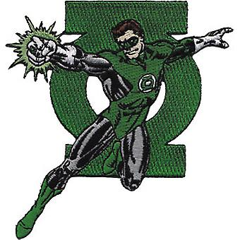 Patch - DC Comic - Green Lantern & Logo Iron On Licensed Gifts Toys p-dc-0015