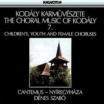Z. Kodaly - Kod Ly: Choral Music Vol.7 [CD] USA import