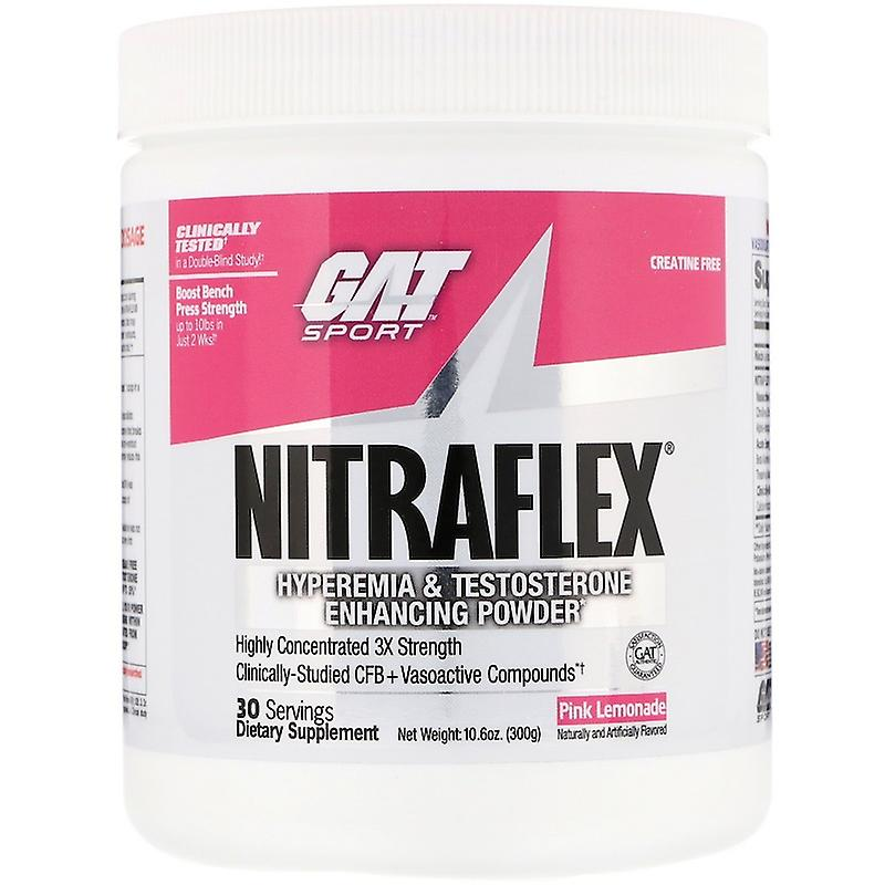 GAT Sport Nitraflex pó de testosterona