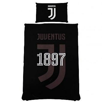 Juventus FC omkeerbare mono enkel dekbed set