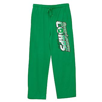 Green Lantern Corp logo Unisex sömn byxor