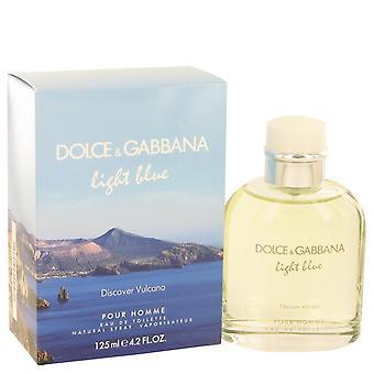 Luz azul descubre Vulcano Eau De Toilette Spray Por Dolce & Gabbana 515157 125 ml