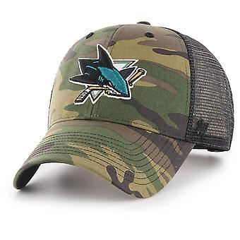 47 Brand Snapback Cap - BRANSON San Jose Sharks camo