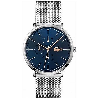 Lacoste | Men's Moon Multi | Steel Mesh Bracelet | Blue Dial | 2011024 Watch