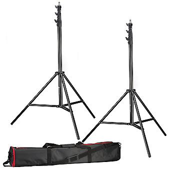 Trípode BRESSER 2x BR-TP280 PRO-1 (280 cm) + bolsa