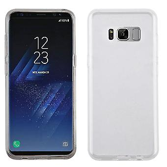 MYBAT Glossy Transparent Clear Candy Skin Cover pour Galaxy S8 Plus