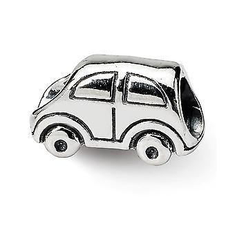 925 Sterling Silber poliert Reflexionen SimStars Auto Perle Anhänger Anhänger Halskette Schmuck Geschenke für Frauen