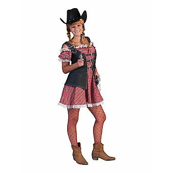 Cowgirl Denim Ranger Robe Short Women's Costume Wild West Costume Western Ladies Carnival