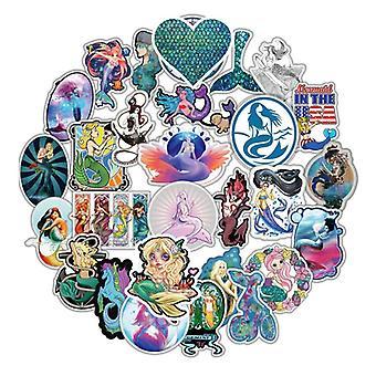 50x Stickers, Mermaid