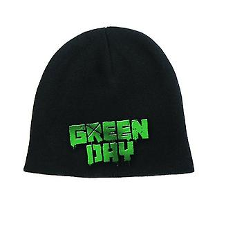 Green Day Beanie Hat Cap band Logo american idiot new Official black