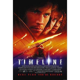 Tidslinje (enkelsidig Regular) (2003) original Cinema affisch