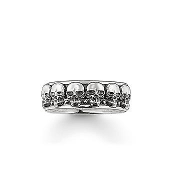 Thomas Sabo Sterling Silver Thomas Sabo The Skulls Ring TR1878-001-12
