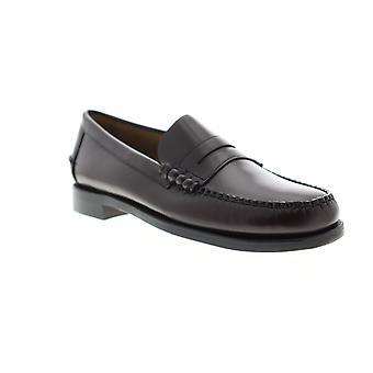 Sebago Classic Dan Mens Brown Loafers & Slip Ons Penny Shoes