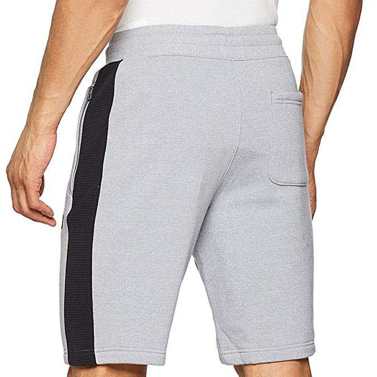 Under Armour UA menns Microthread fleece joggere bunner gym bukser shorts-grå