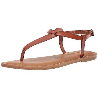 Amazon Essentials kvinner ' s casual Thong med ankel stropp Sandal, Tan, 9 B USA