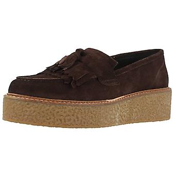 Yellow Moccasins Cannes Color Marron
