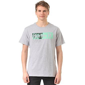 Hurley Halfer Art Short Sleeve T-Shirt in Heather Grey