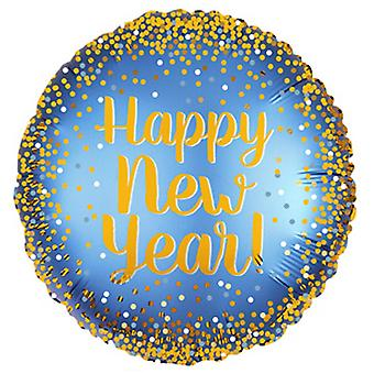 Anagram Luxe New Year Circle Balloon