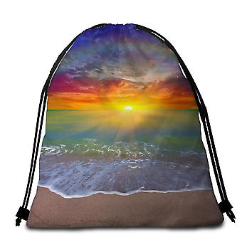 Simply Wholesale Sunset Beach Towel