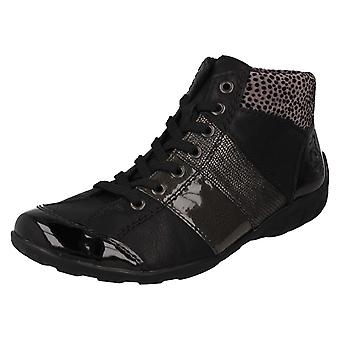 Botas de tobillo casuales de Ladies Rieker L65A3