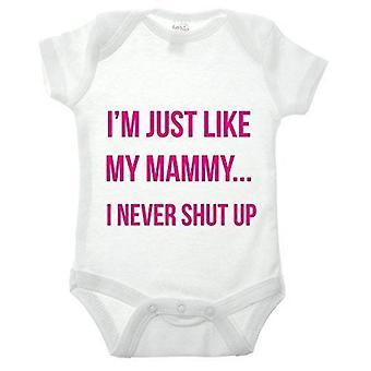 Just like mammy babygrow