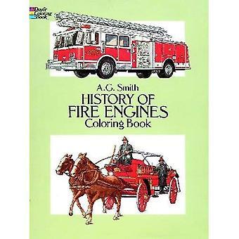 Histoire des pompiers coloriages