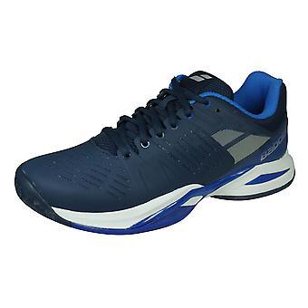 Babolat Propulse Team All Court Mens Tennis Trainers / Shoes - Dark Blue