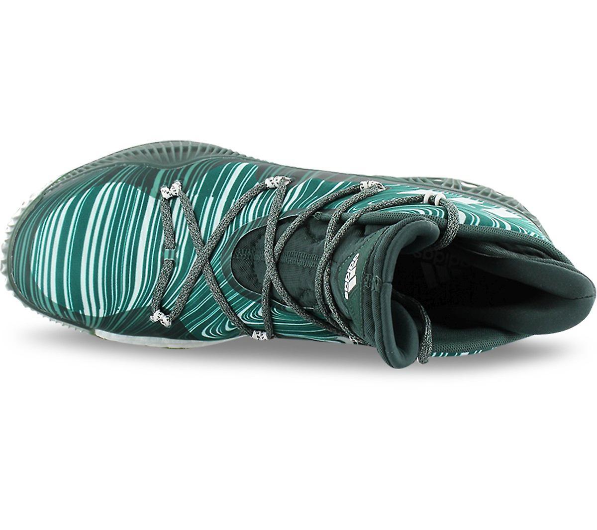 Adidas Crazy Explosive B42423 Herren Basketballschuhe Grün Sneakers Sportschuhe