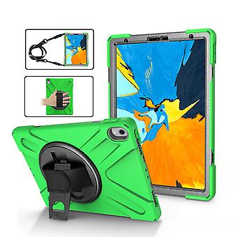 Green Shoulder & Hand-strap Armor For iPad Pro 11 Inch (2018) Case