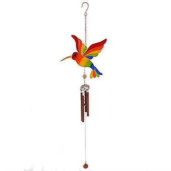Something Different Multicoloured Hummingbird Windchime