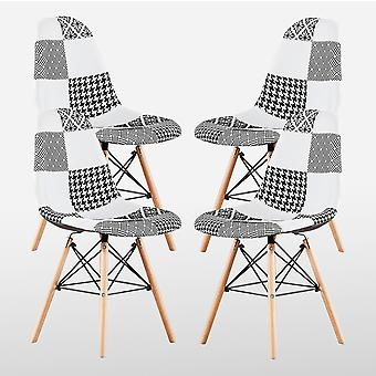 Chrono Patchwork Eiffel Chair