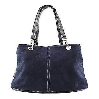 Chicca Bags 10028 Women's handbag Dark Blue 32x20x14 cm (W x H x L)