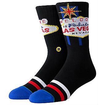 Stance Glitter Gultch Socks - Czarny