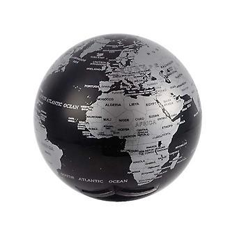 Globe rotatif magique globe noir