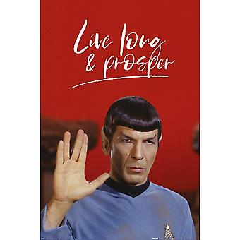 Star Trek, Affiche Maxi - Live Long et Prosper
