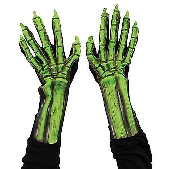 UV vihreä luuranko kädet