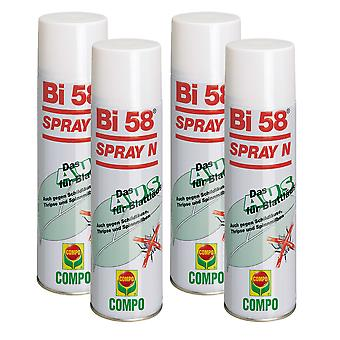 Sparsomme: 4 x COMPO Bi 58® Spray N, 400 ml